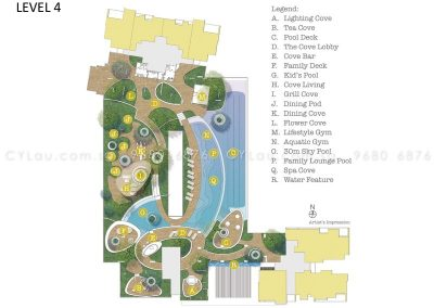 trilive site plan level 4