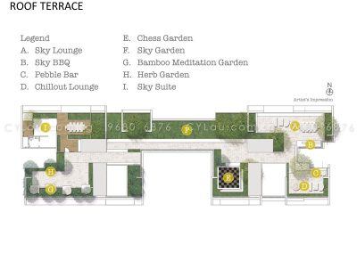 trilive site plan level roof terrace