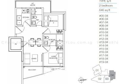 8m residences 2-bedroom