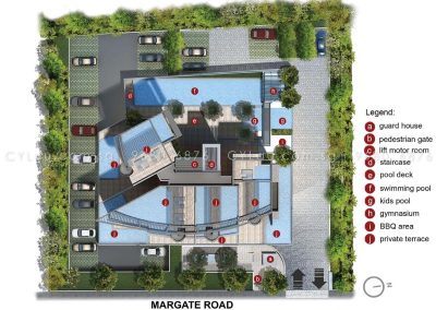 8m residences site plan