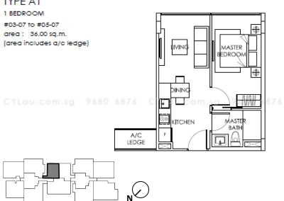 the-citron-1-bedroom-a1