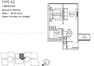 the-citron-1-bedroom-a2