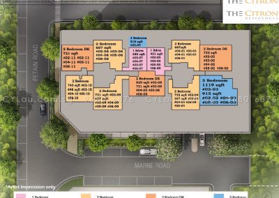 the-citron-site-plan-residential-units