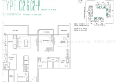 the-alps-residences-3-bedroom-c2