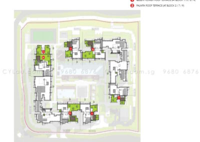 the-alps-residences-site-plan-level-roof