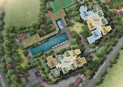 martin modern floor plan 2a