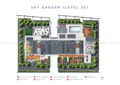 south beach residences site plan level 32